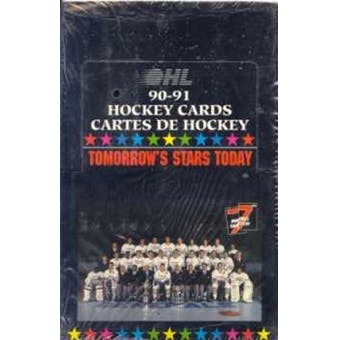 7th Inning Sketch - OHL - 1990-91 - Hockey - Tomorrow's Stars Today - Hobby Box