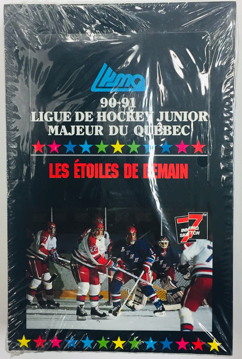 7th Inning Sketch - 1990-91 - Hockey - Hobby Box - French Edition