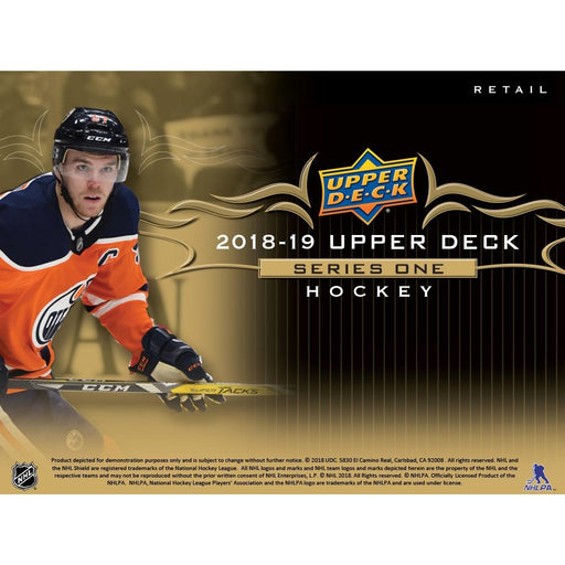 2018-19 Upper Deck Series 1 Hockey Fat Pack