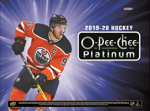 Upper Deck - 2019-20 - Hockey - O-Pee-Chee Platinum - Hobby Box