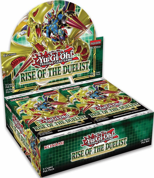 Konami - Yu-Gi-Oh! - Rise of the Duelist - Booster Box - Pre-Order August 7th 2020