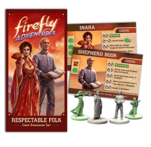 Firefly Adventures - Respectable Folk Crew Expansion Set