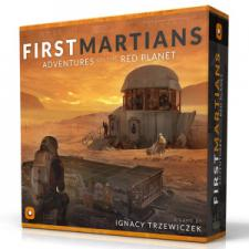 First Martians - Adventures on the Red Planet Ninja Divisonn | Cardboard Memories Inc.