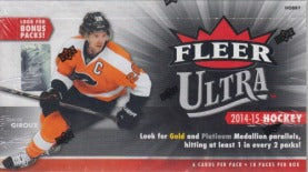 2014-15 Upper Deck Fleer Ultra Hockey Hobby Box Upper Deck | Cardboard Memories Inc.