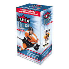 2014-15 Upper Deck Fleer Ultra Hockey Blaster Box Upper Deck | Cardboard Memories Inc.
