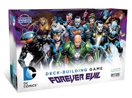 DC Comics Deck-Building Game - Forever Evil Cryptozoic | Cardboard Memories Inc.