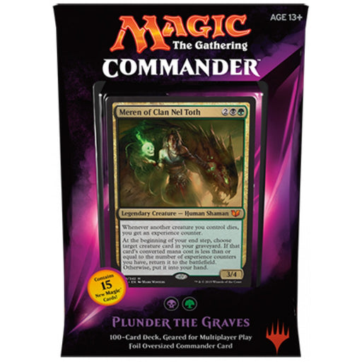 Magic The Gathering - 2015 - Commander Deck - Plunder the Graves