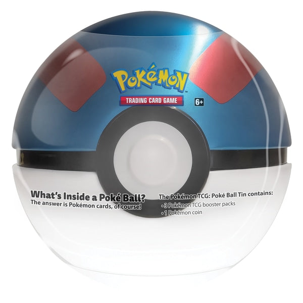 Pokemon - Blue and Red Pokeball - Tin Wave 3 - Great Pokeball
