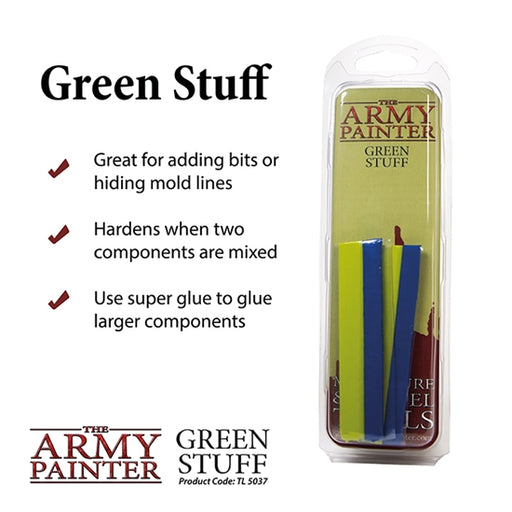 Army Painter - Green Stuff Modellling Putty