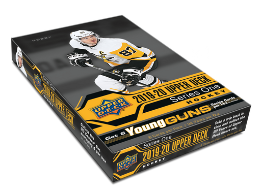 Upper Deck - 2019-20 - Hockey - Series 1 - 4 Hobby Box Combo