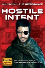 Resistance - Hostile Intent Indie Boards & Cards | Cardboard Memories Inc.