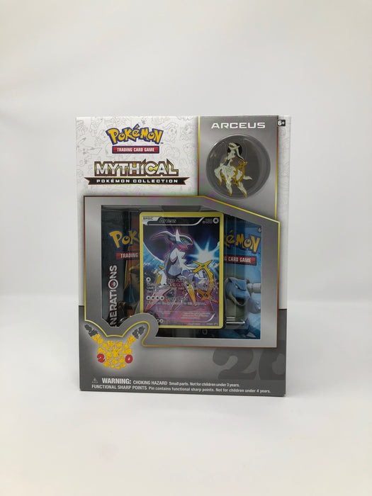 Pokemon Mythical Pokemon Collection Box - Arceus Pokemon | Cardboard Memories Inc.