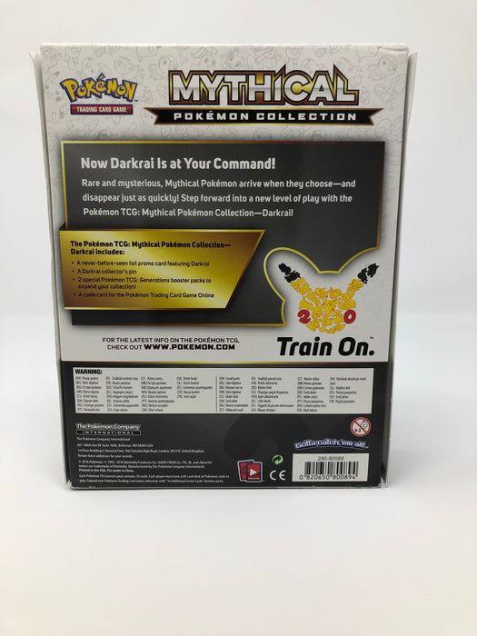 Pokemon Mythical Pokemon Collection Box - Darkrai Pokemon | Cardboard Memories Inc.
