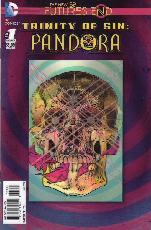 The New 52 FUTURES END TRINITY OF SIN: PANDORA #1 ( 3D Cover )