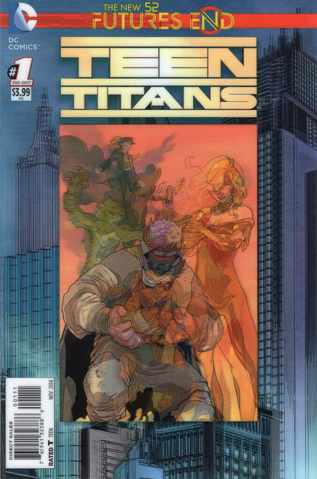 DC Comics - THE NEW 52 FUTURES END TEEN TITANS 1 - 3D Cover