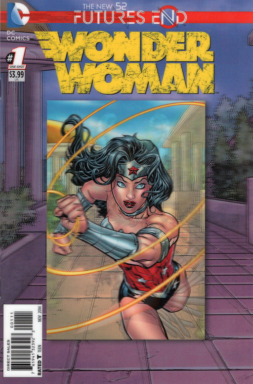 THE NEW 52 FUTURES END WONDER WOMAN #1 ( 3D Cover )