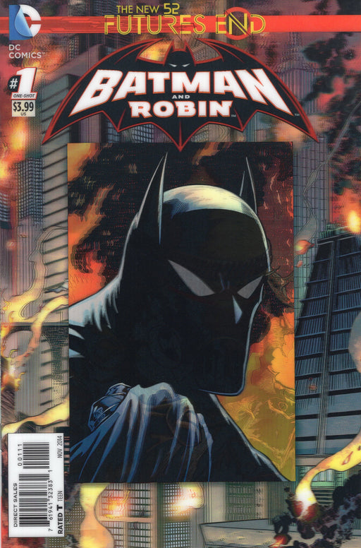 DC Comics - THE NEW 52 FUTURES END BATMAN AND ROBIN 1 3D Cover