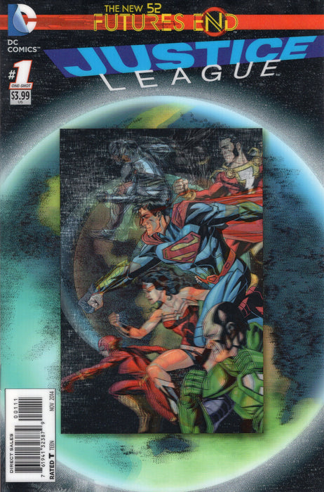 DC Comics - THE NEW 52 FUTURES END JUSTICE LEAGUE 1 - 3D Cover