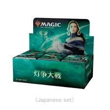 Magic the Gathering - War of the Spark JAPANESE Version - Booster Box