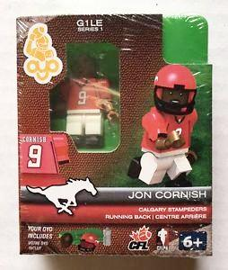 CFL OYO Calgary Stampeders Jon Cornish Oyo Figures | Cardboard Memories Inc.