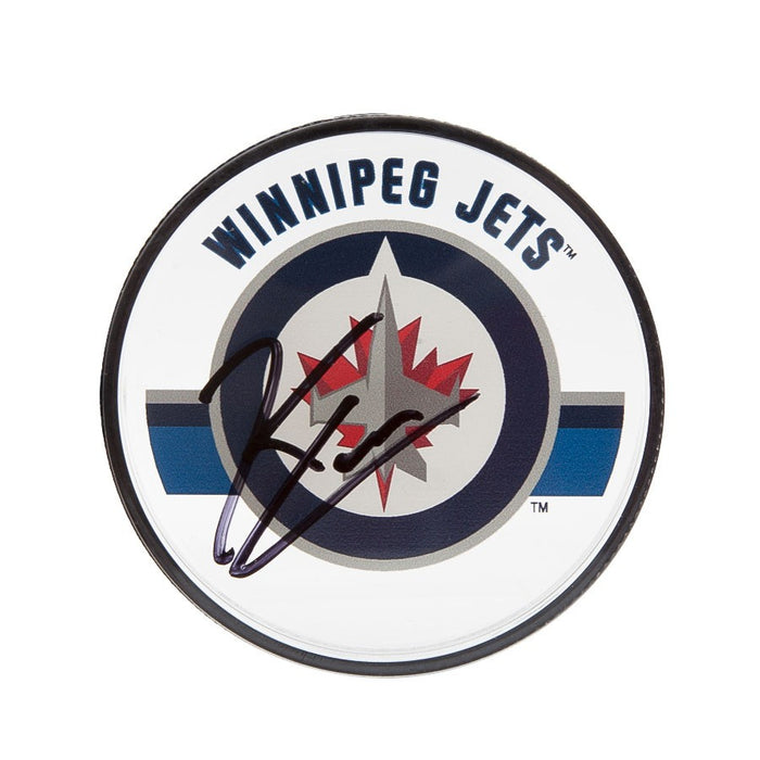 Upper Deck Authenticated - Kyle Connor Autographed Winnipeg Jets Acrylic Puck (Pre-Order) Upper Deck | Cardboard Memories Inc.