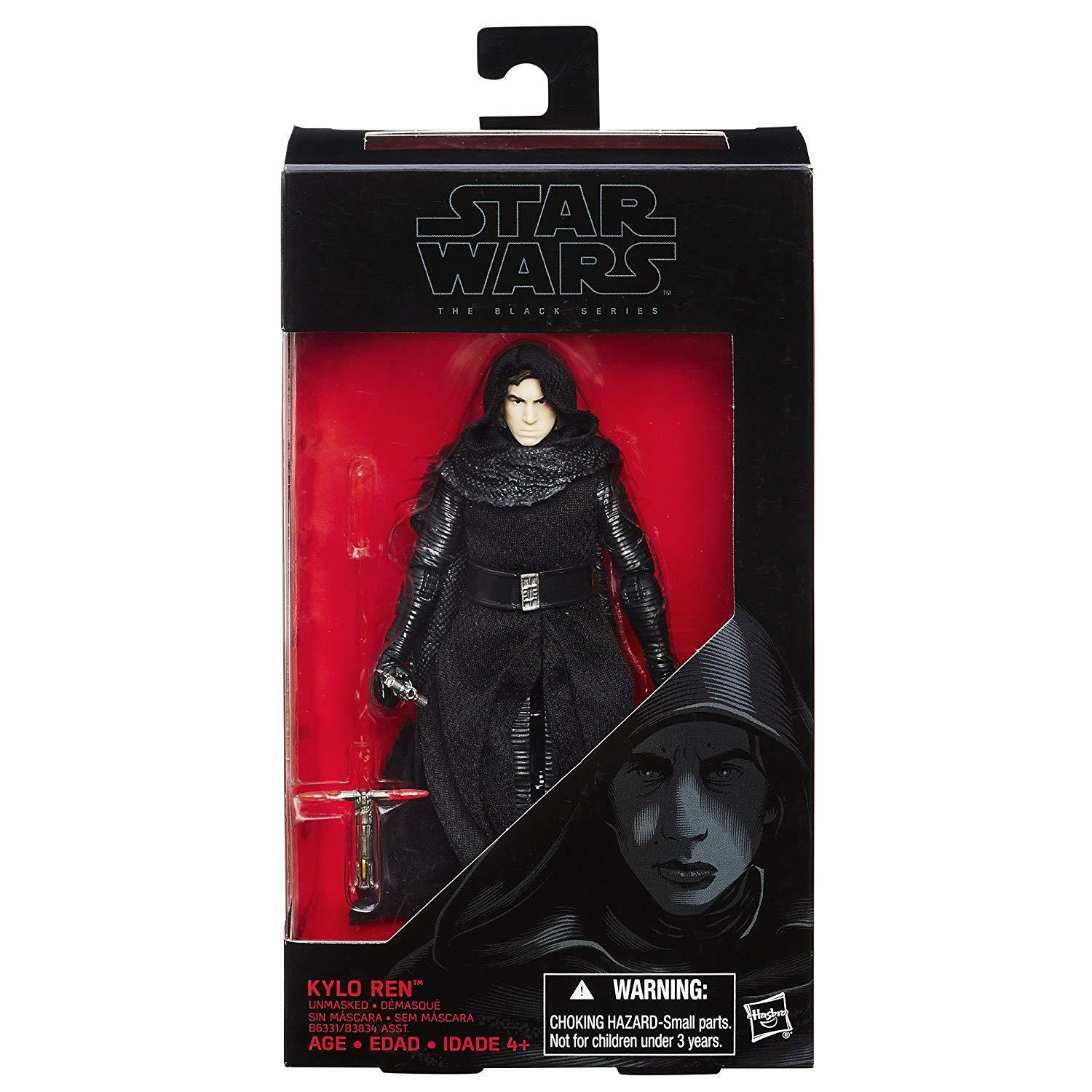 Hasbro - Star Wars - The Black Series - Kylo Red Unmasked