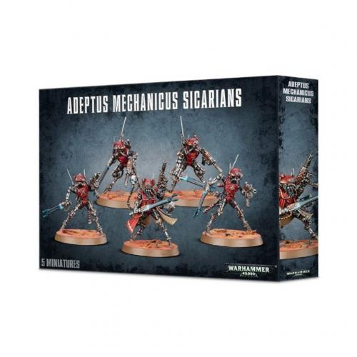 Games Workshop - Warhammer 40K - Adeptus Mechanicus Sicarians - 59-11
