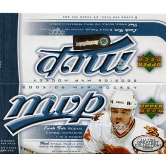 2005-06 Upper Deck - MVP Hockey Box