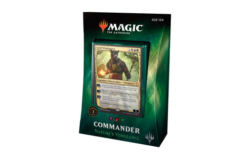 Magic the Gathering - 2018 Commander Deck - Nature's Vengeance