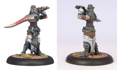 Warmachine - Retribution of Scyrah - Nayl Character Solo - PIP 35022 Privateer Press | Cardboard Memories Inc.
