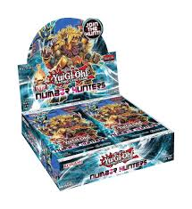 Yu-gi-oh! Number Hunters Booster Box Konami | Cardboard Memories Inc.
