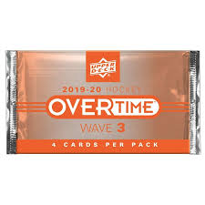 Upper Deck - 2019-20 - Hockey - Overtime Wave 3 - Hobby Pack