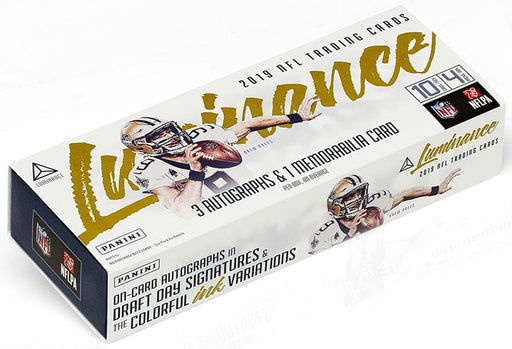 2019 Panini - Luminance Football - Hobby Box