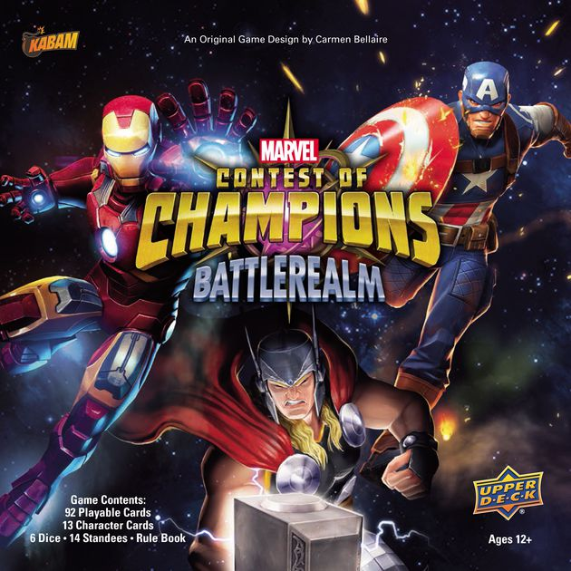 Upper Deck - Marvel Contest of Champions - Battlerealm