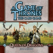 A Game of Thrones the Card Game Queen of Dragons Expansion Fantasy Flight Games | Cardboard Memories Inc.