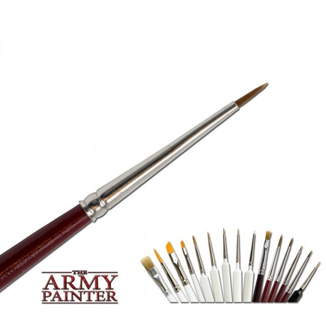 Army Painter Hobby - Precise Detail Brush The Army Painter | Cardboard Memories Inc.