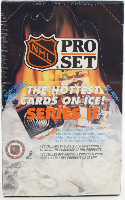 Pro-Set - 90-91 - Hockey - Series 2 - Hobby Box