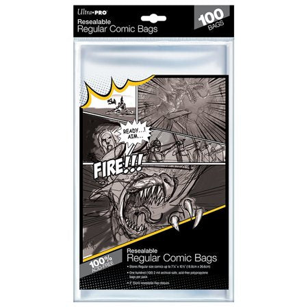 Ultra Pro - Comic Series - Resealable Regular Size Comic Bags
