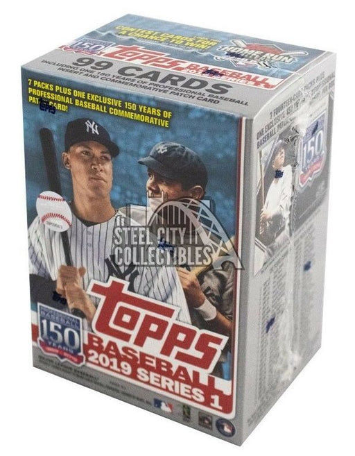 2019 Topps Series 1 Baseball Relic Box