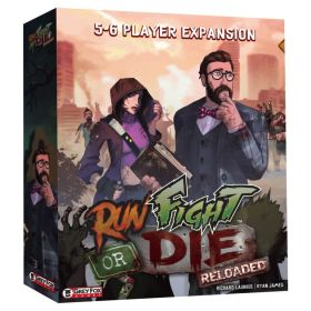 Grey Fox Games - Run Fight or Die - Reloaded - 5-6 Player Expansion