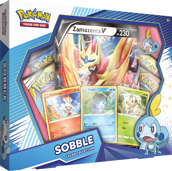 Pokemon - Sun and Moon - Cosmic Eclipse - Galar Collection - Sobble