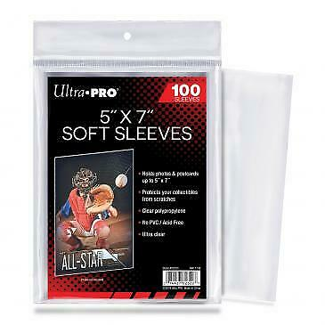 Ultra Pro - 5x7 Soft Sleeves