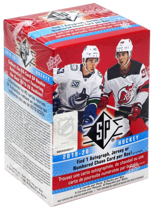 Upper Deck - 2019-20 - Hockey - SP - Blaster Box
