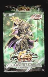 Yu-gi-oh! 2009 Spellcaster's Command Structure Deck Konami | Cardboard Memories Inc.
