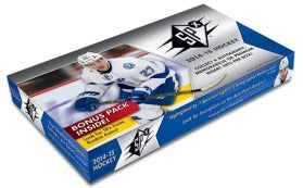 2014-15 Upper Deck SPX Hockey Hobby Box Upper Deck | Cardboard Memories Inc.