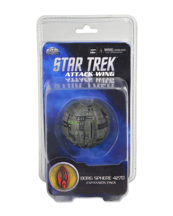 Star Trek Attack Wing - Borg Sphere 4270 Expansion Pack Wizkids | Cardboard Memories Inc.