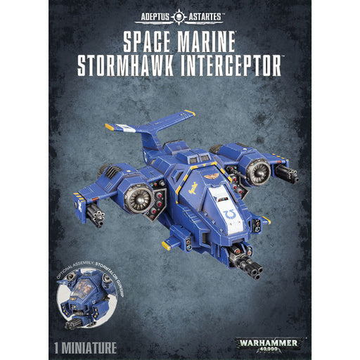 Games Workshop - Warhammer 40K - Space Marine Stormhawk Interceptor - 48-42