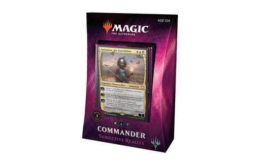 Magic The Gathering - 2018 Commander Deck - Subjective Reality