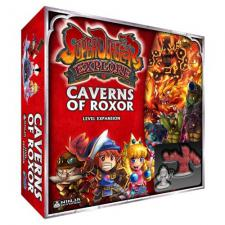 Super Dungeon Explore - Caverns of Roxor Level Expansion Ninja Divison | Cardboard Memories Inc.