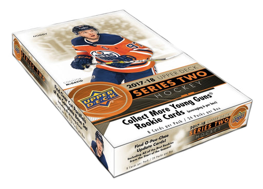 2017-18 Upper Deck Series 2 Hockey Hobby Box Upper Deck | Cardboard Memories Inc.